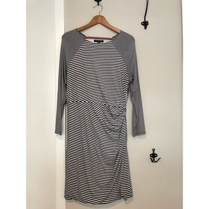 Banana Republic Striped Jersey/Snitty Dress